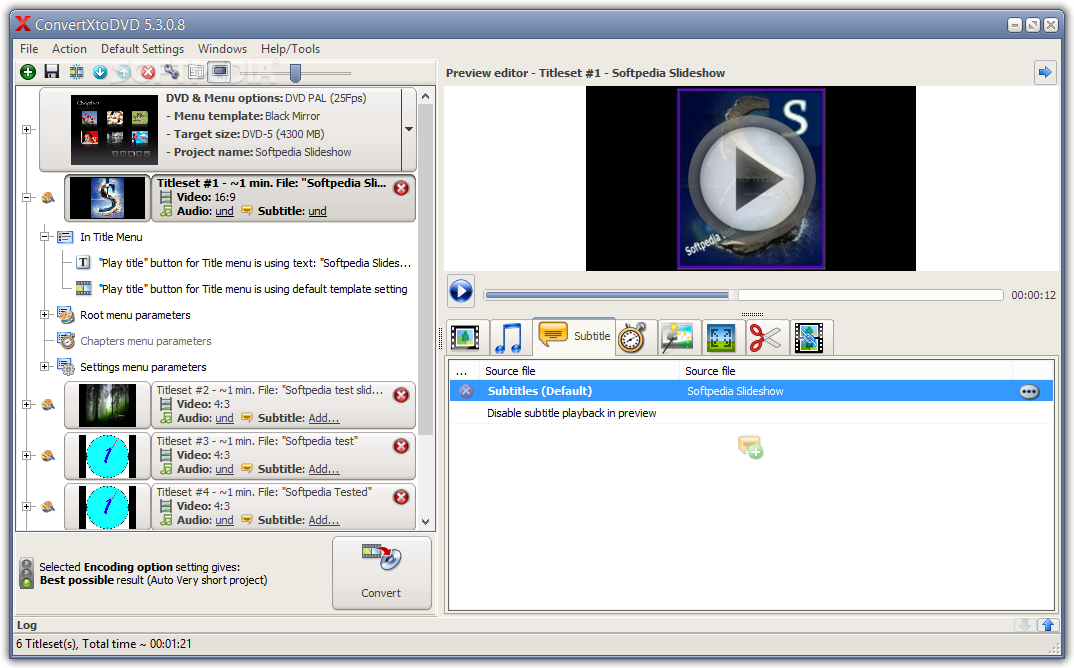Descargar convertxtodvd 7 0 7 0 beta crack for Powerdirector dvd menu templates