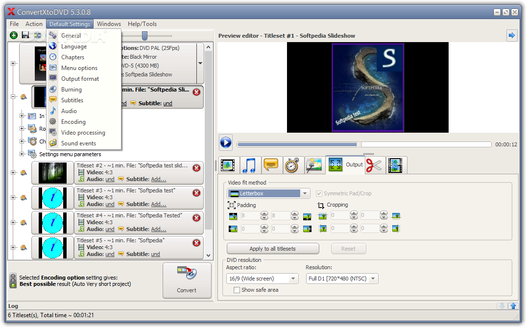 Convert x to dvd 4 and 1 click dvd copy 5