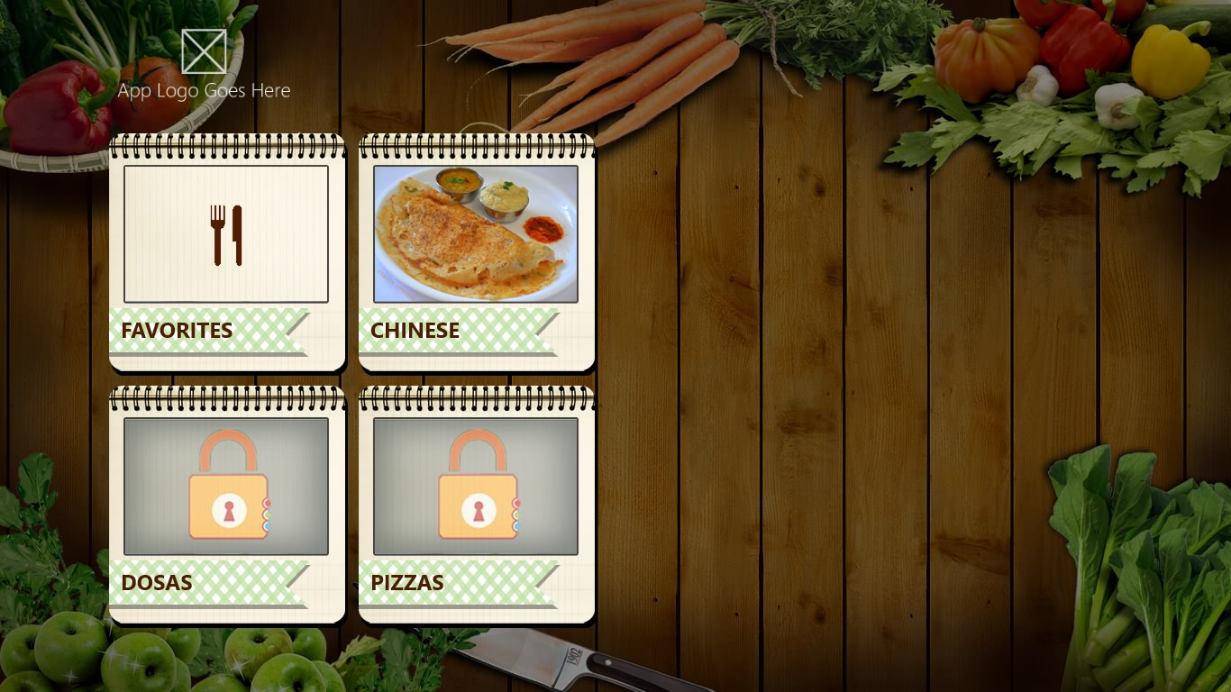 download cook book template