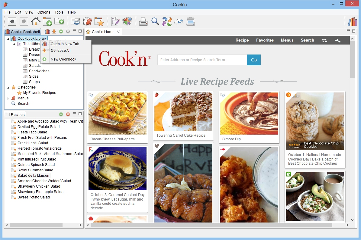 Cookn on the go for palm os free