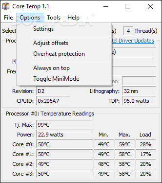 Download Core Temp 1 14