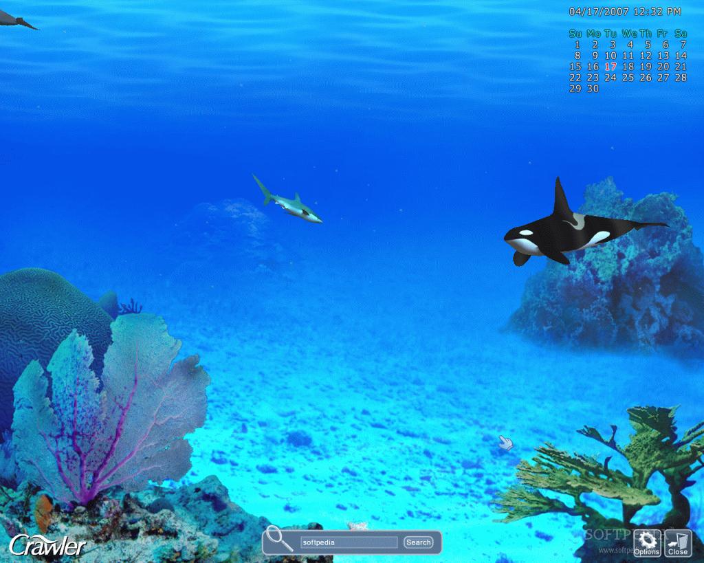 crawler 3d marine aquarium screensaver v 4.2.5.9