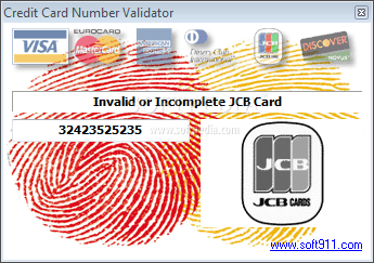 Credit card validation Samples and examples - C#, VB.NET, ASP.NET