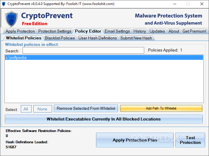 Download CryptoPrevent 9 1 0 0