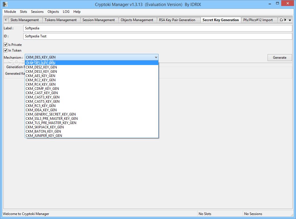 Download Cryptoki Manager 1 3 15