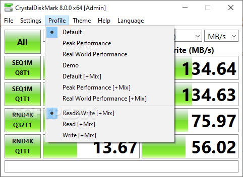 Crystaldiskmark 3. 0 небольшой тест для сравнения.