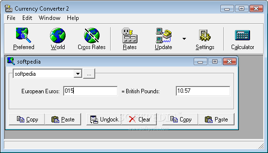 Currency Converter The Main Window Of This Lication Allows You To Use Cur