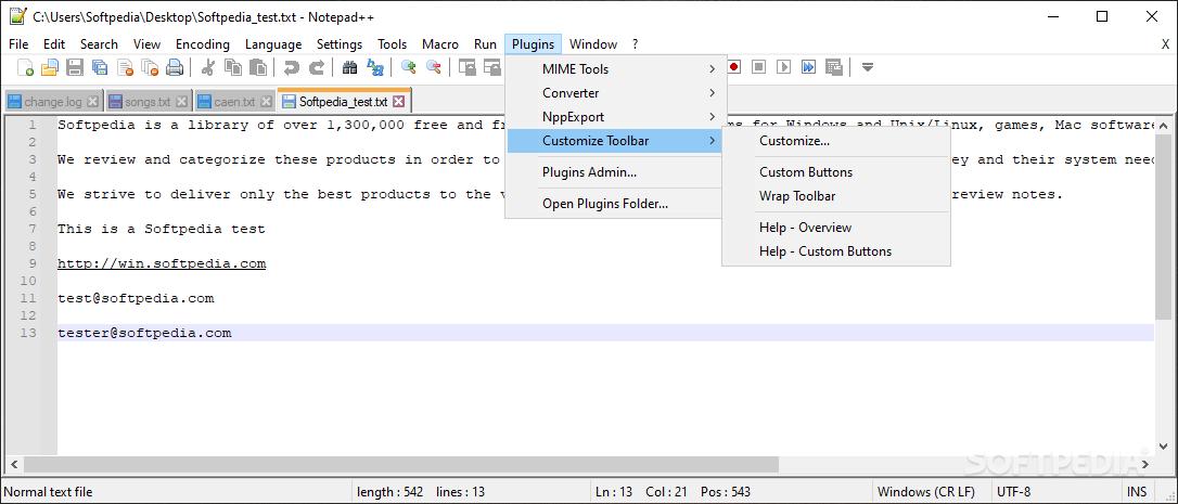 Customize Toolbar screenshot #0