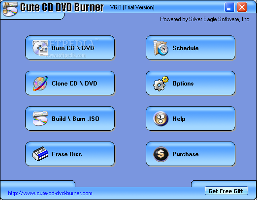3nity cd dvd burner