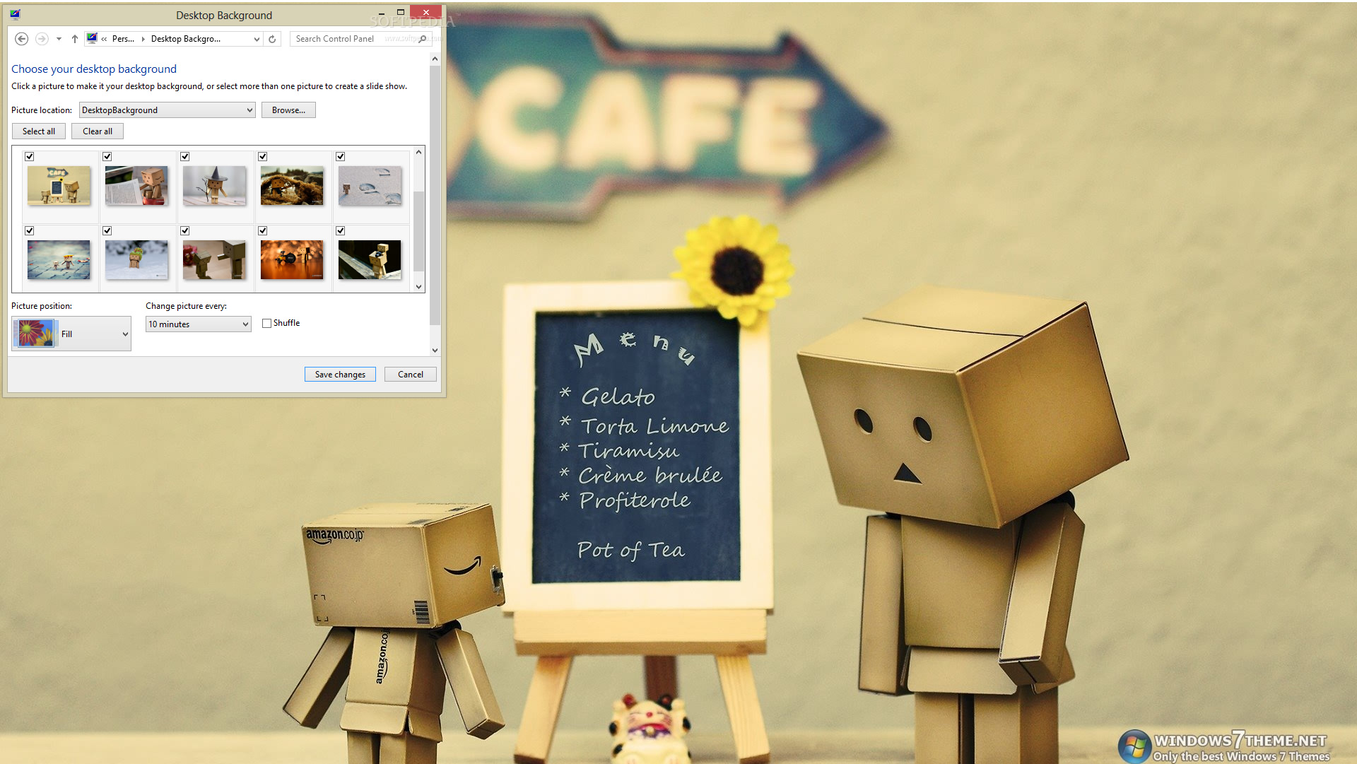 cute danbo windows 7 theme 1