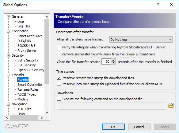 Download CuteFTP 9 3 0 3