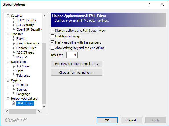 cute ftp software free download with crack