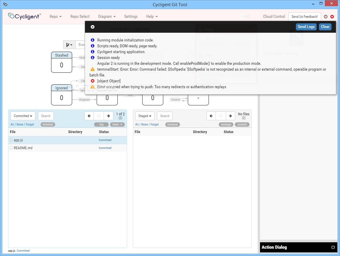 Download Cycligent Git Tool 0 5 2 Beta