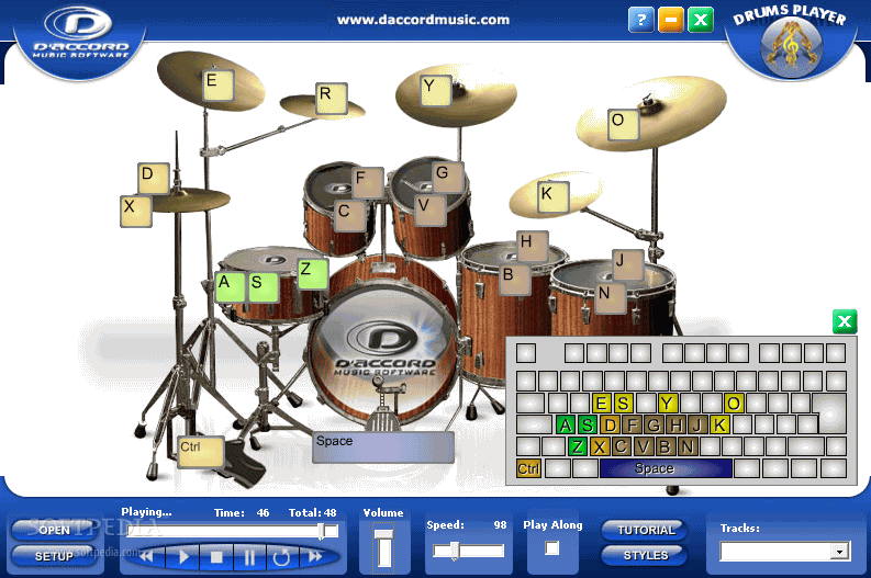 Download D'Accord Drums Player 1 0