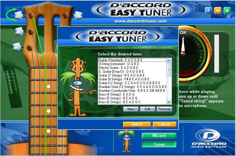 D'Accord Easy Tuner Download