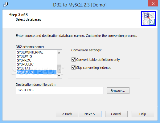 Download DB2 to MySQL 2 5 0 1