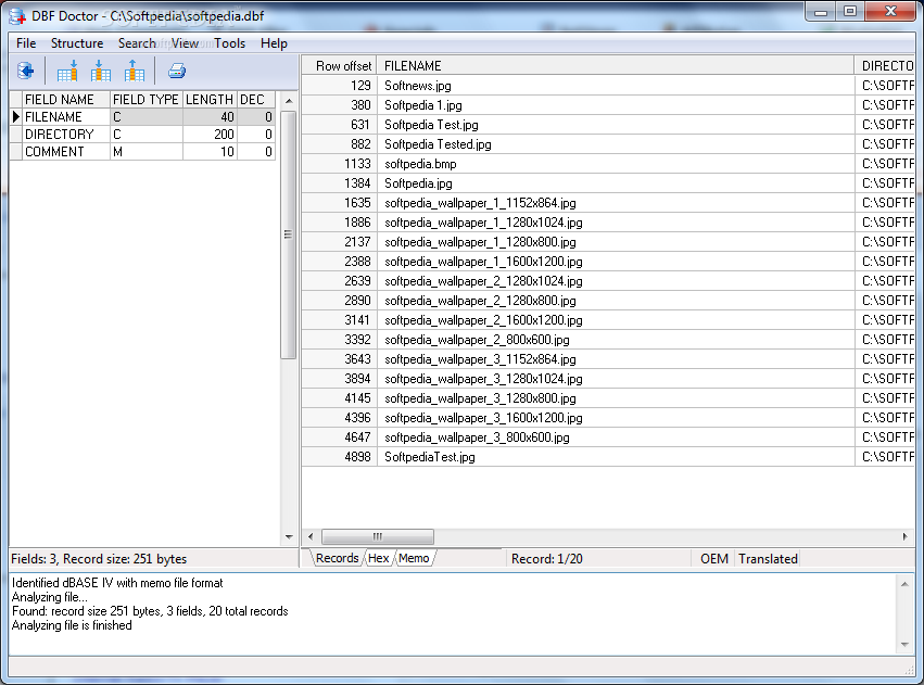 Download DBF Doctor 3 1 604