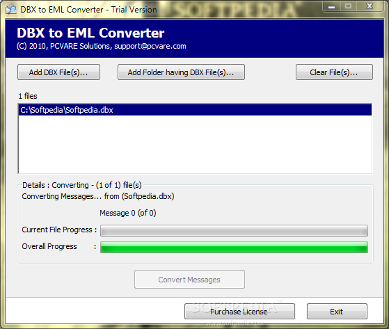convert eml files to pdf linux