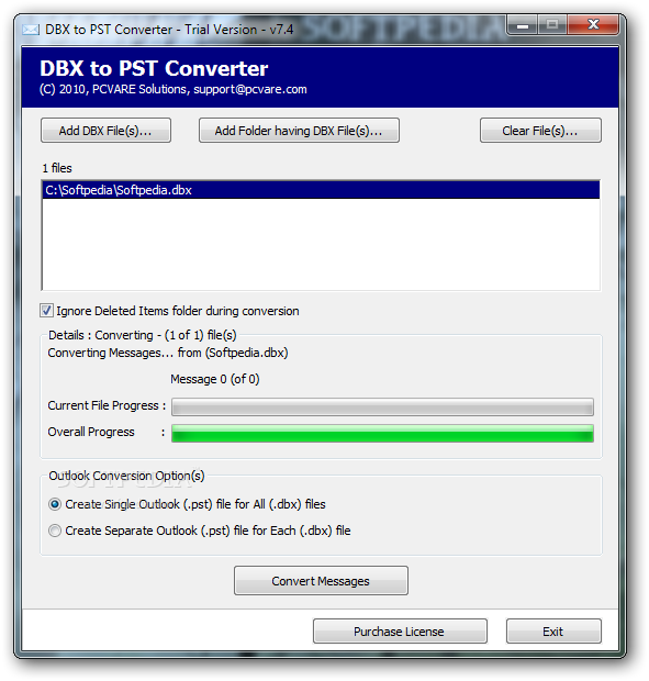 Windows10up.com Download Free DBX to PST Converter - In the main window of DBX to PST Converter you