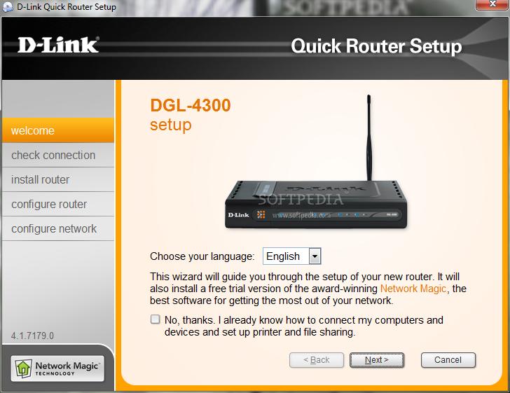 DLINK DGL-4300 Driver UPDATE