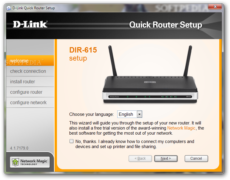 how to run dlink 2770l as access point