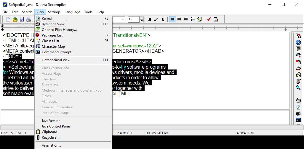 dj decompiler free
