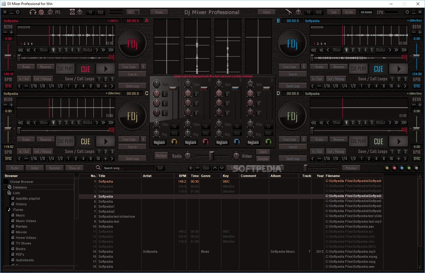 dj mixer professional - photo #1