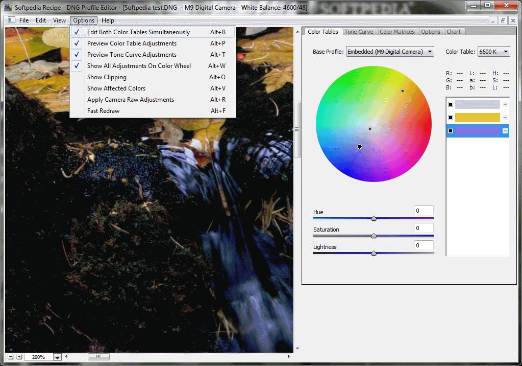 Download DNG Profile Editor 1.0.0.46 Beta - softpedia.com