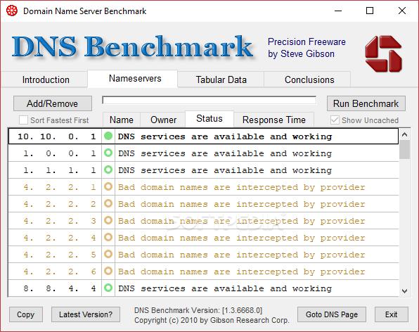 download dns benchmark apk