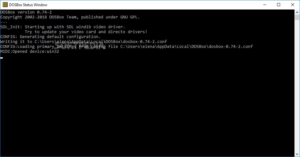 Download DOSBox 0 74-3