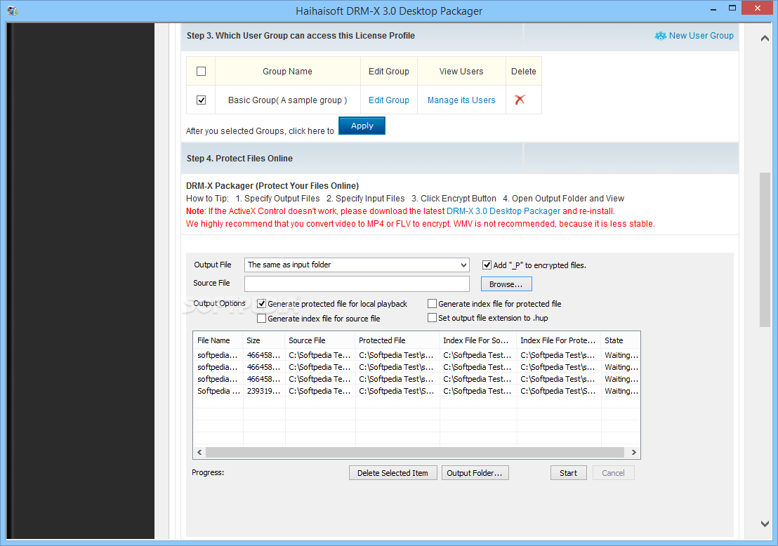 Download DRM-X 3 0 Desktop Packager 1 0 0 6