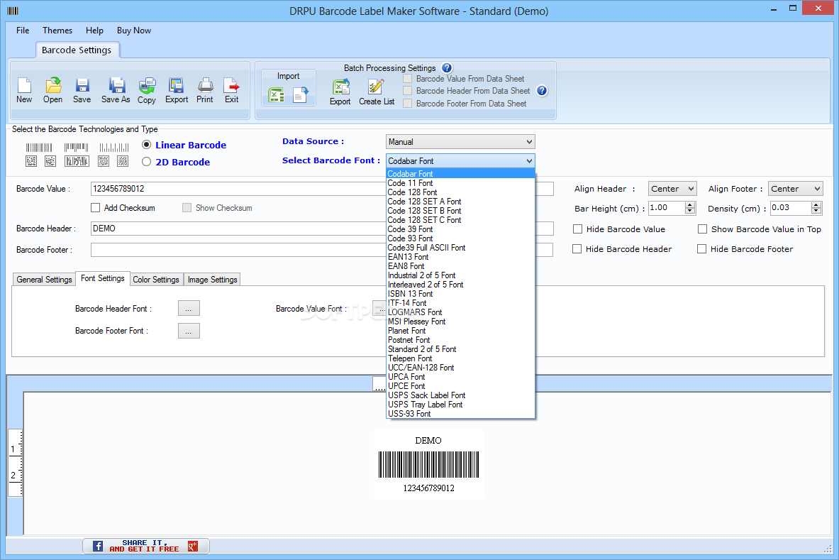 Download DRPU Barcode Label Maker Software 9 0 1 1