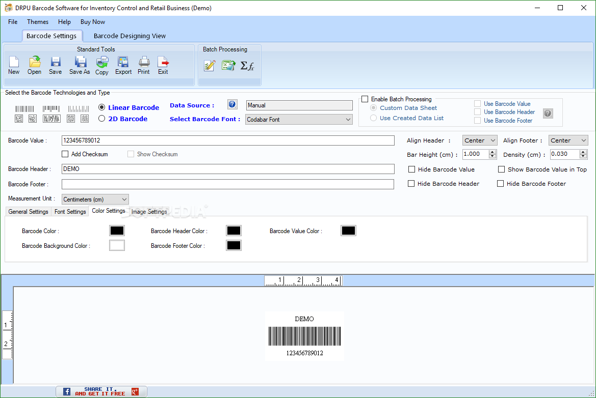 Download DRPU Barcode Software for Inventory Control and Retail Business  9 0 1 1