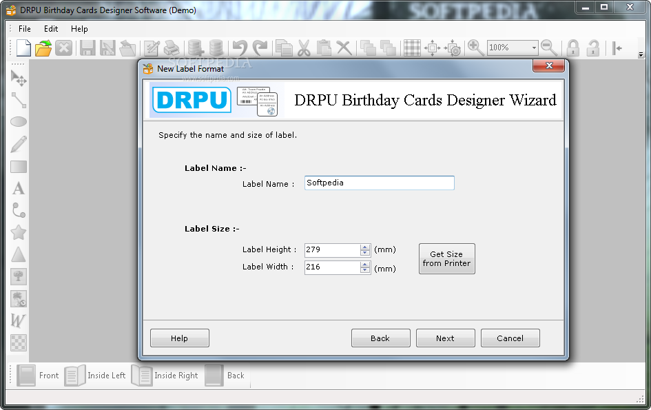 DRPU Birthday Cards Designing Software Download – Size of Birthday Card