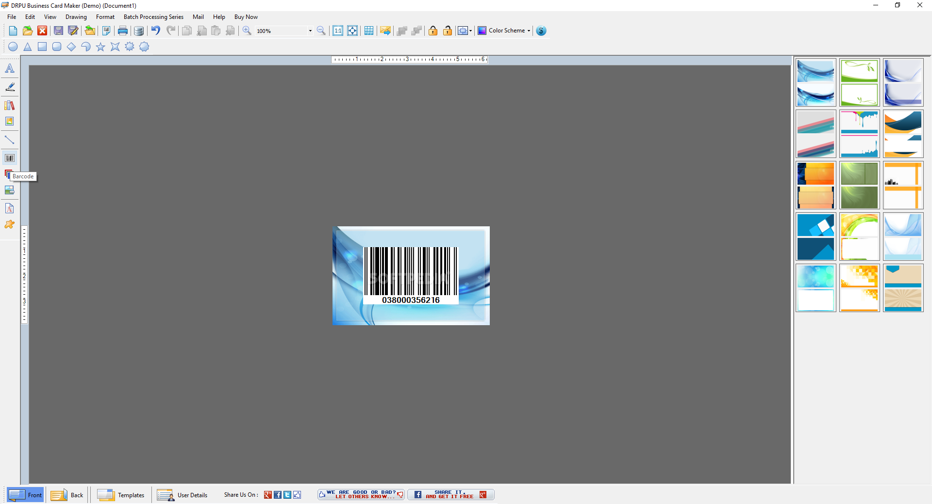 download drpu business card maker software 8 3 0 1