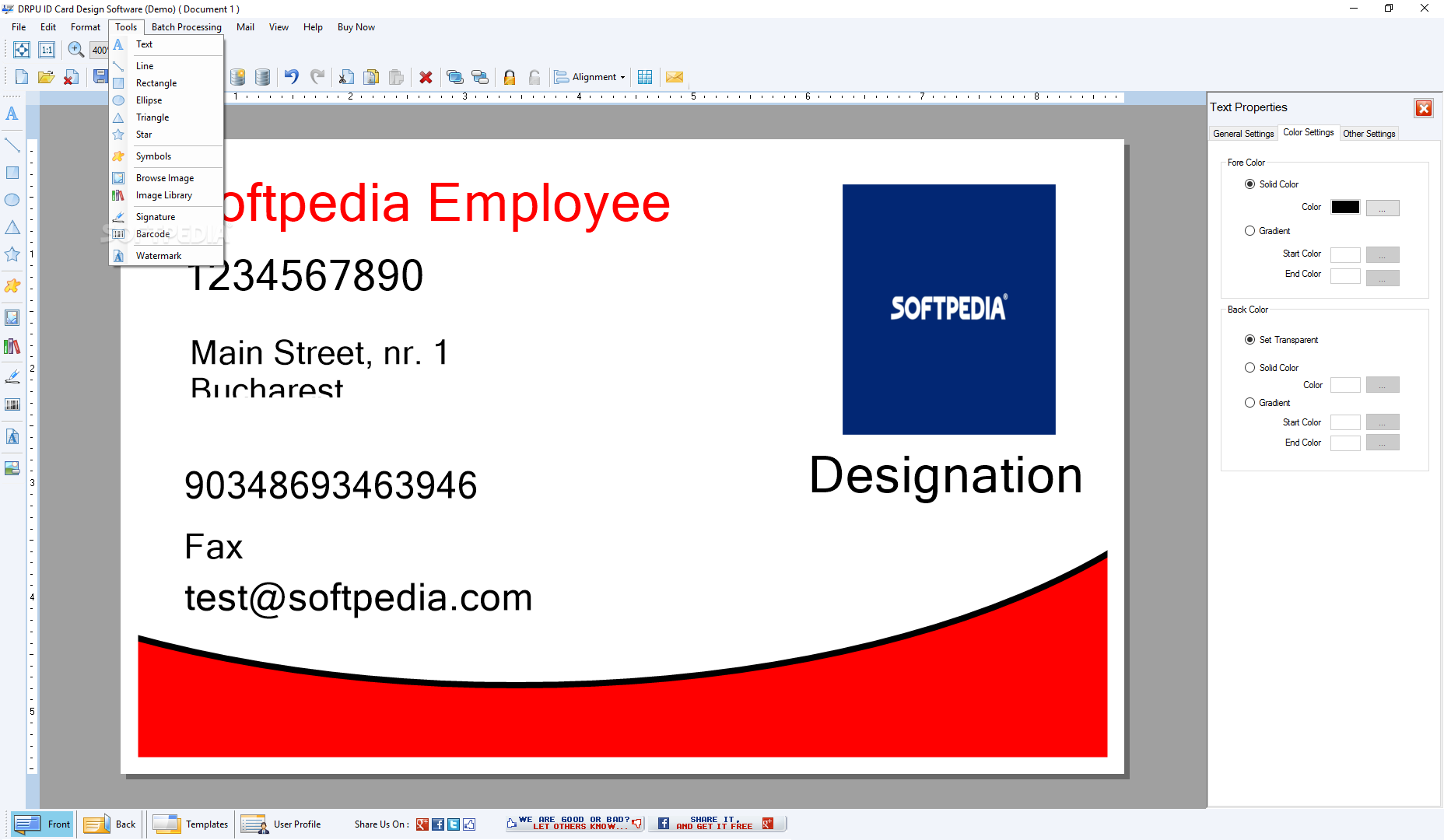 Download Drpu Id Card Design Software 8 5 3 2