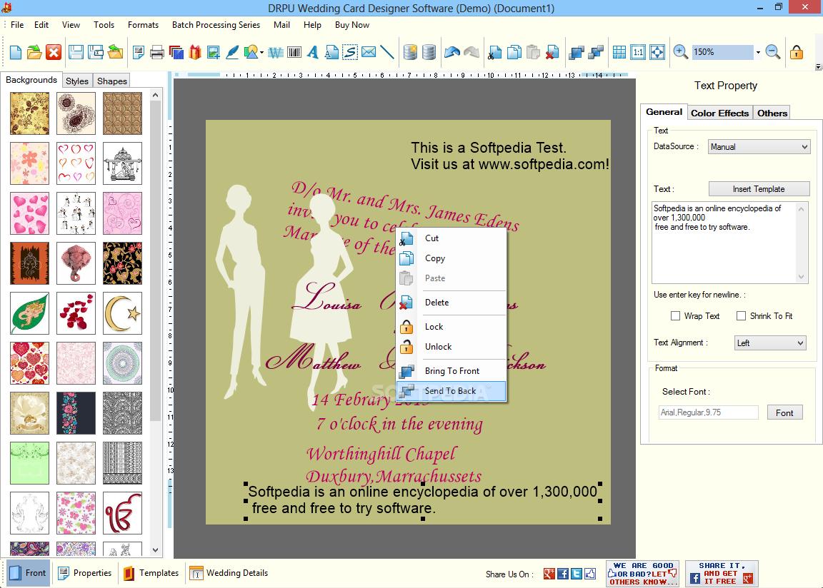 Download Drpu Wedding Card Designer Software 8 3 0 1