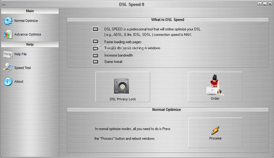 Download DSL Speed 8 0