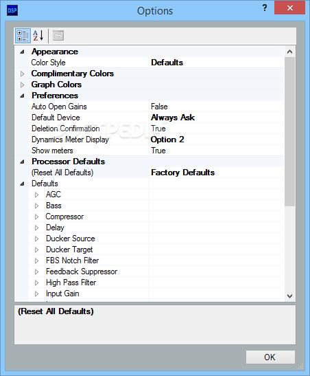 Download DSP Configurator 2 12 0