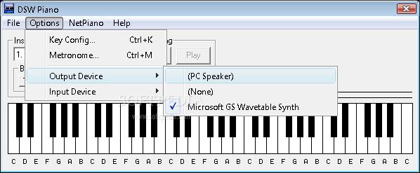 dsw piano virtual
