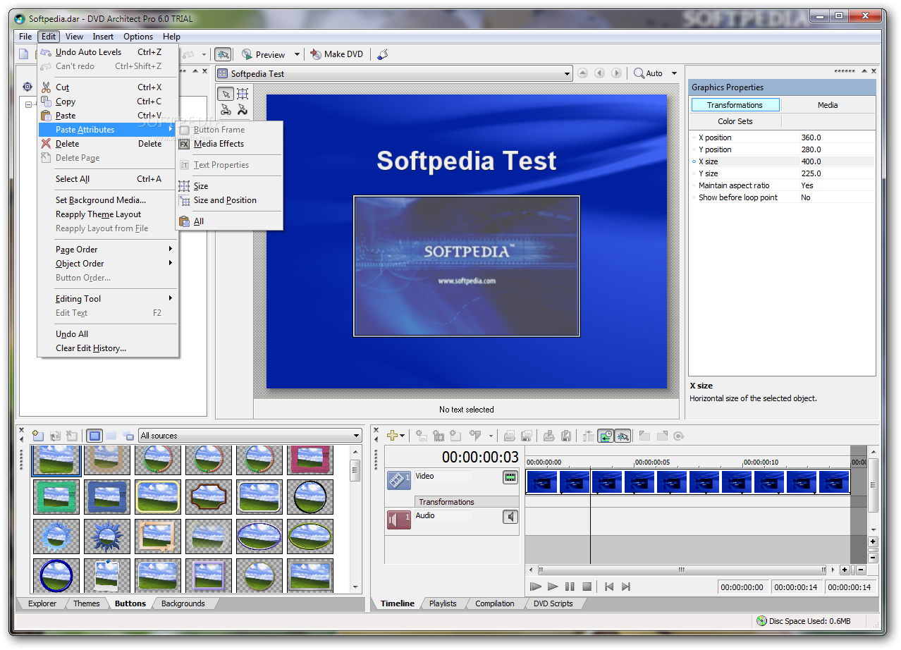 Dvd studio pro 3 trial for Professional architect