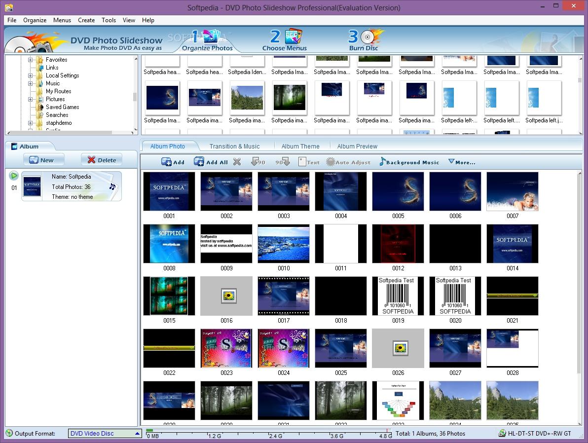 dvd photo slideshow professional free download