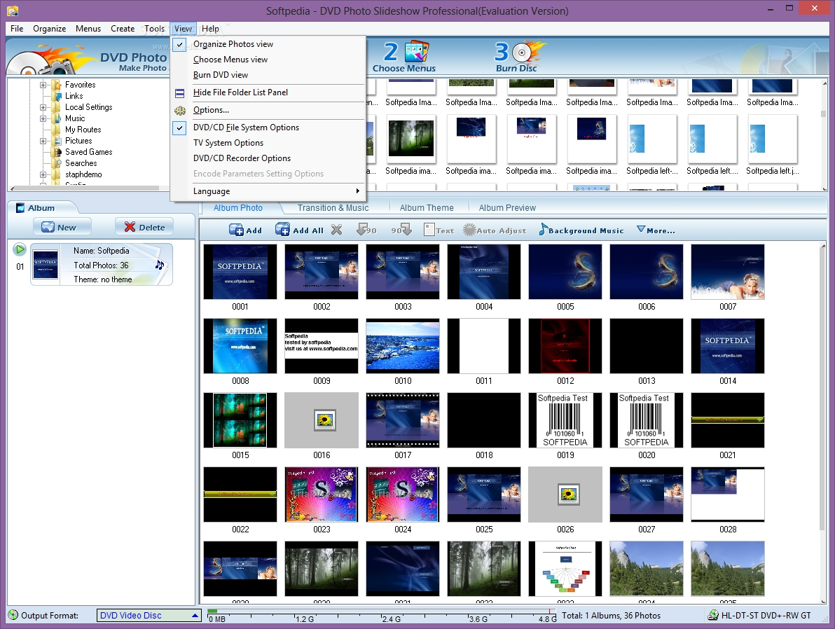 photo dvd maker professional 8.07