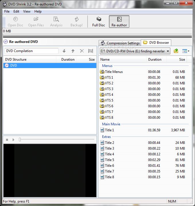 Download DVD Shrink 3 2 0 15