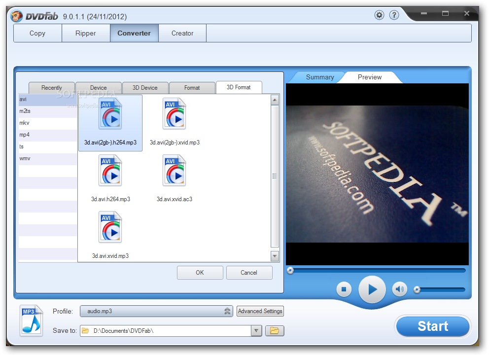 Dvdfab 2d to 3d converter download for 3d freeware