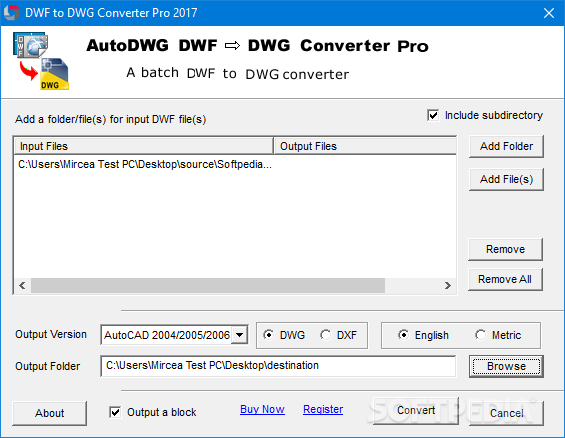 Download DWF to DWG Converter Pro 1 90