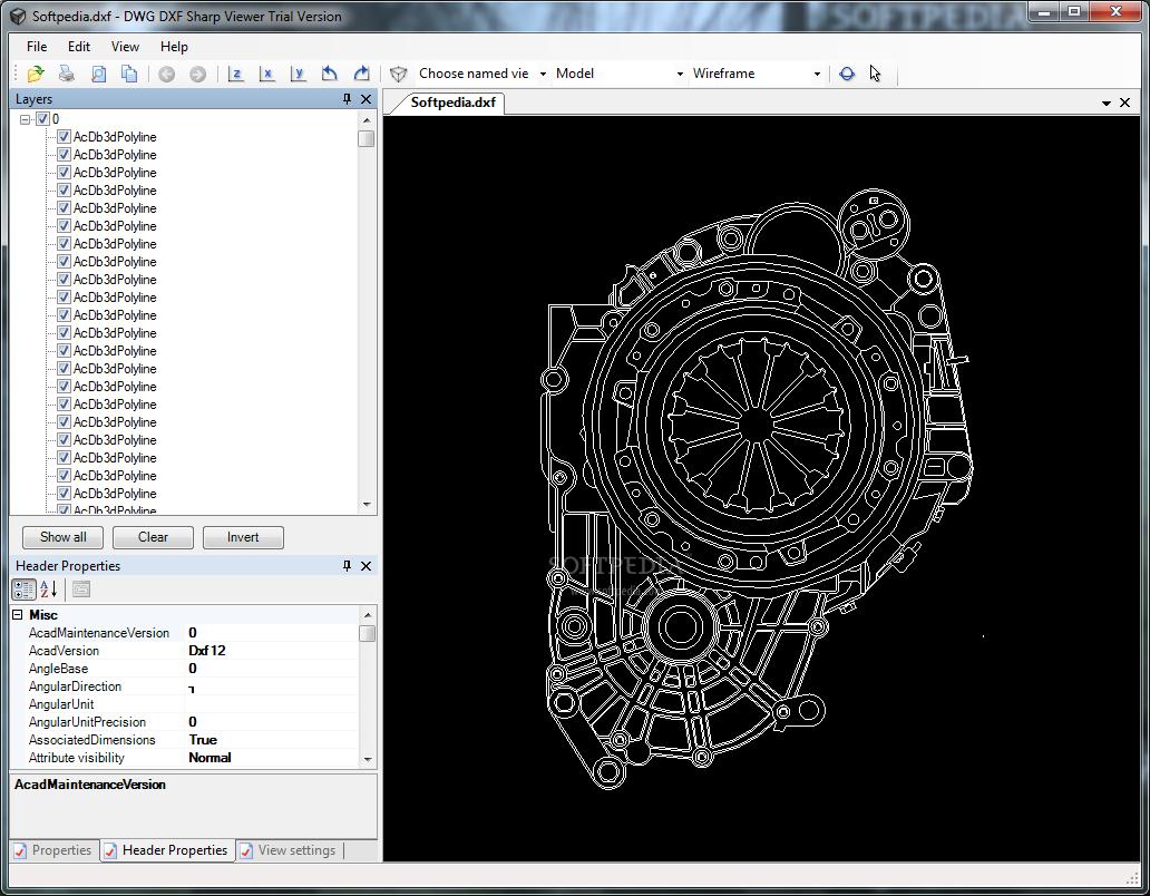 Download DXF Sharp Viewer 2 0 30 0