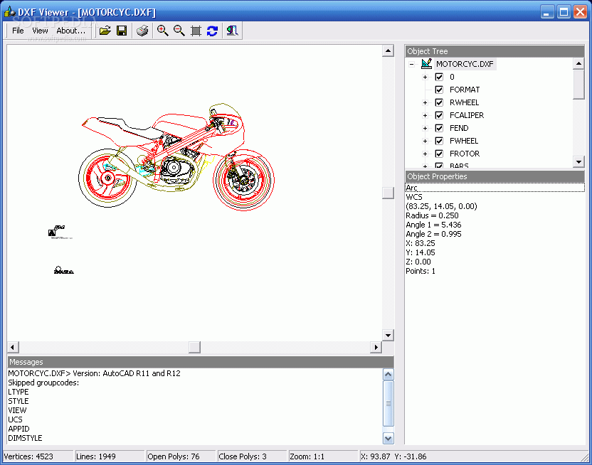 Download DXF Viewer 1 1