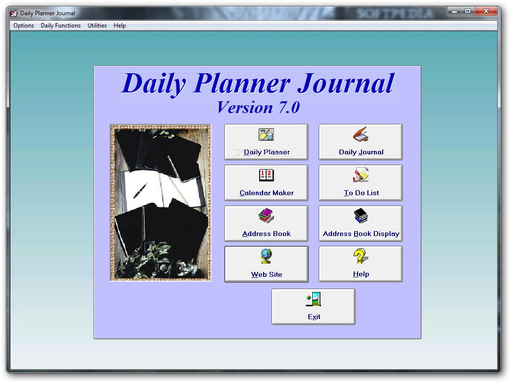 Daily planner journal download softpedia for Daily planner maker