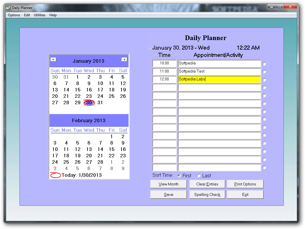 download daily planner journal 7 0